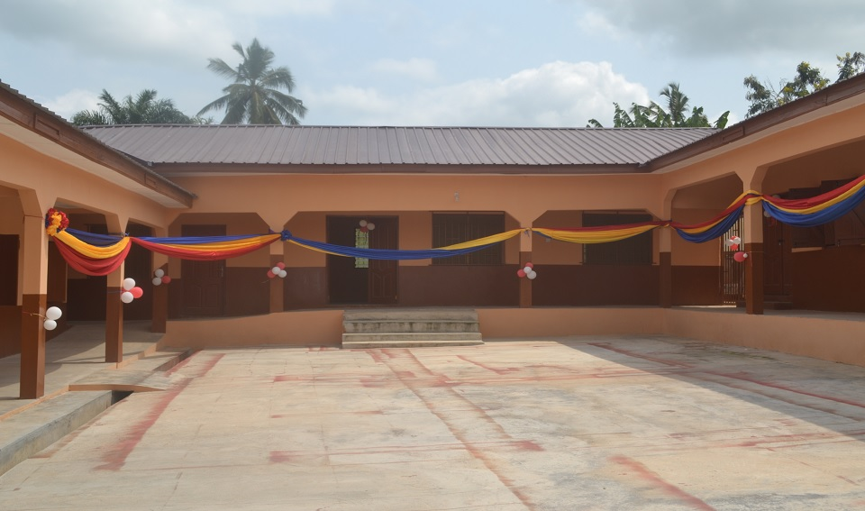 Construction of 6-unit classroom block at Salvation Army School, Agona Swedru.